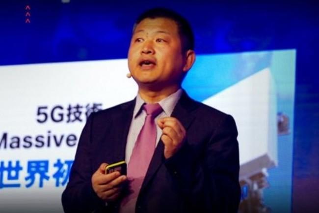 Le Dr Yuefeng Zhou, directeur du marketing des produits Wireless Network de Huawei, s'est officiellement « réjouit » des examens de sécurité auxquels ces derniers ont été soumis ces deux dernières années… (crédit : D.R.)