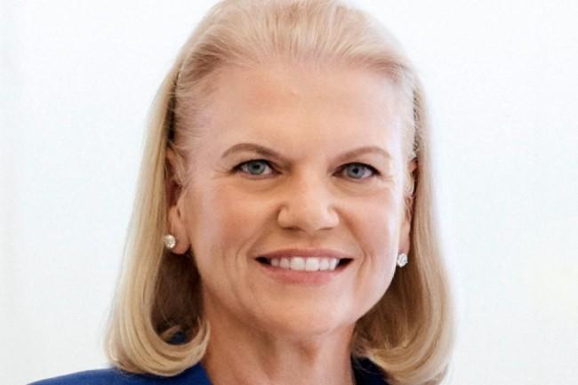 « Le cloud hybride fait tourner les applications critiques, et repose sur la confiance et la gestion responsable », a expliqué Virginia Rometty, CEO d'IBM lors du dernier événement Think à San Francisco (12-15 février 2019). crédit : IBM