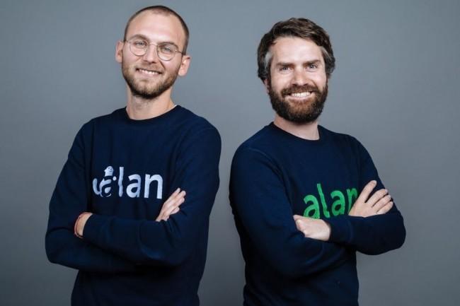 En  réussissant une 3e levée, la start-up Alan co-fondée par Jean-Charles Samuelian (à gauche) et Charles Gorintin (à droite) veut élargir ses services de e-santé auprès des TPE et des indépendants. Crédit. D.R.