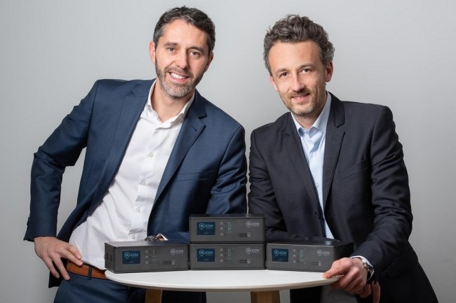 David Coiron et Sébastien Wild, les cofondateurs d'Icow ont lancé leur société en 2014 dans la région lyonnaise dont les solutions sont utilisées par près de 300 clients. (Crédit : Icow)