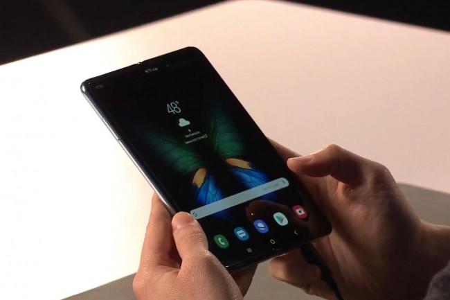 Le Samsung Galaxy Fold sera mis en vente à partir du 26 avril. (Crédit IDG)