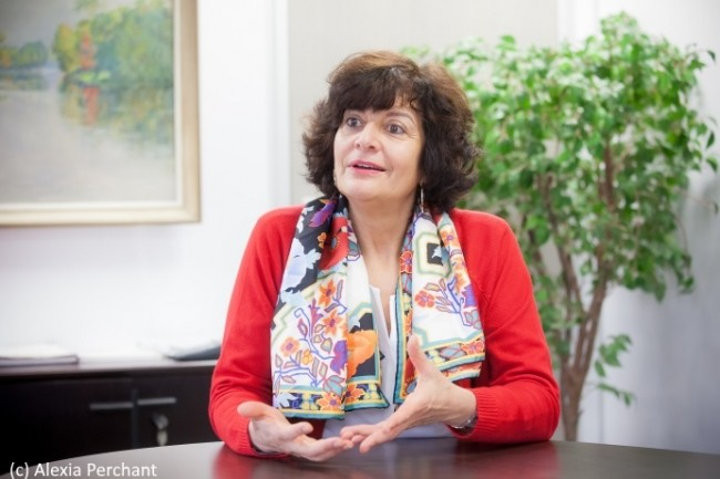 Nejia Lanouar est DSI de la Ville de Paris depuis 2012 où elle avait succédé à Jean-Claude Meunier. (crédit : Alexia Perchant)