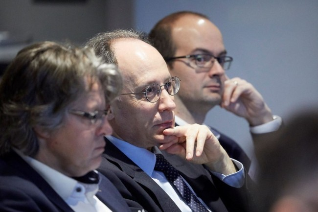 La conférence «La performance pilotée par l'agilité» a été organisée par CIO au centre d'affaires Paris Trocadéro le 19 février 2019. (crédit : Bruno Levy)