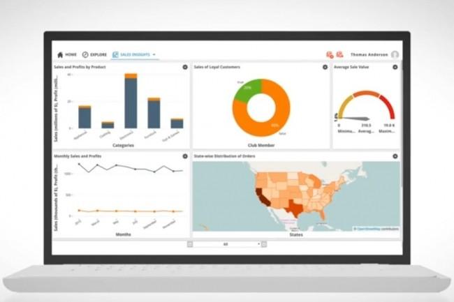 Infruid Labs a conçu son logiciel de visualisation de données Vizard pour l'analyse des big data. (Crédit : Infruid Labs)