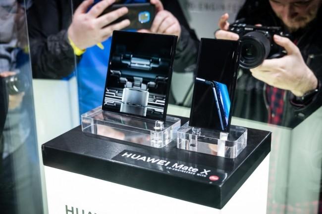 Le Huawei Mate X est le sujet de conversation de la CMM, mais c'est tout ce qu'il y a à dire. (Crédit IDG)