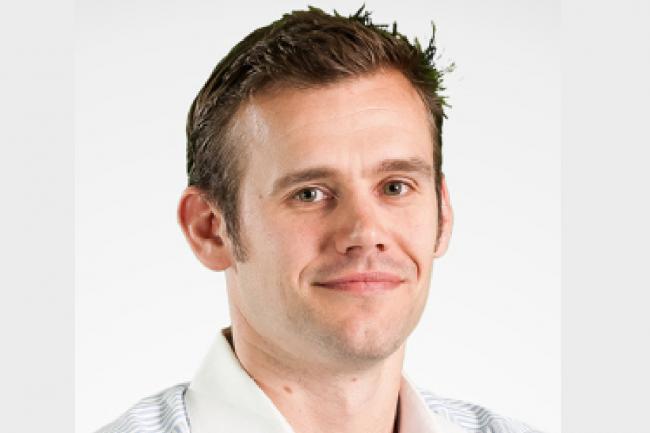 Max Mether, vice-président en charge des produits serveurs chez MariaDB Corporation, s'est chargé d'annoncer la prochaine mise à jour MariaDB enterprise server, prévue pour le printemps prochain. (Crédit : MariaDB)