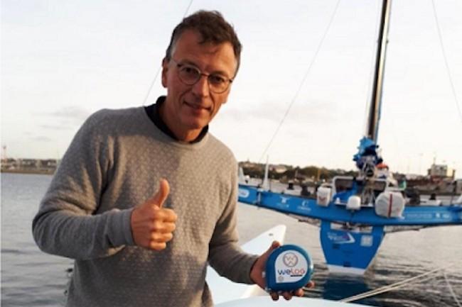 Le prototype Wefeel a été éprouvé sur le voilier Resadia de Pierrick Tollemer lors de la Route du Rhum 2018. (Crédit : Scopelec)
