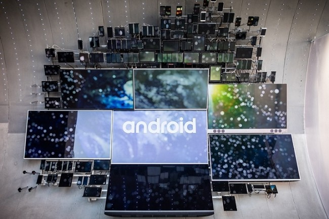 En l'absence d'Apple à Barcelone, l'actualité du Mobile World Congress se concentre beaucoup sur les annonces relatives aux smartphones tournant sur Android. (Credit : Adam Patrick Murray, IDG)