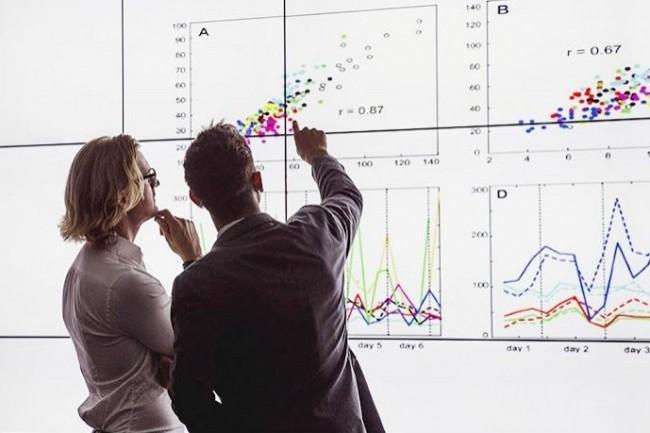 Les attentes des métiers progressent autour de l'exploitation des données. (Crédit : Fotolia)