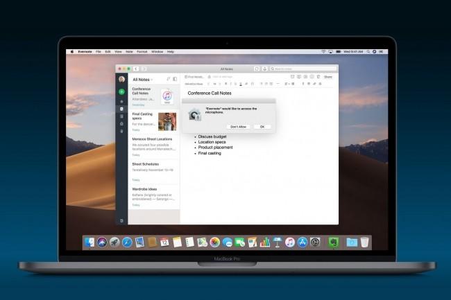 La version Mojave 10.14 de macOS est actuellement en bêta. (Crédit : Apple)