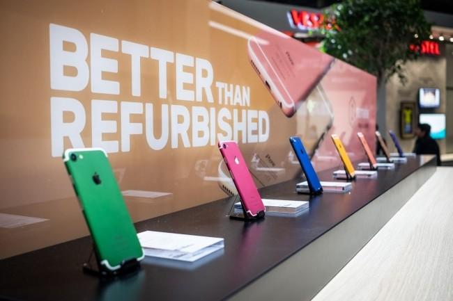 Le groupe français Remade s'est fait une spécialité de la reconstruction de smartphones iPhone d'Apple dont il assure la garantie. (Crédit : Adam Patrick Murray/IDG)