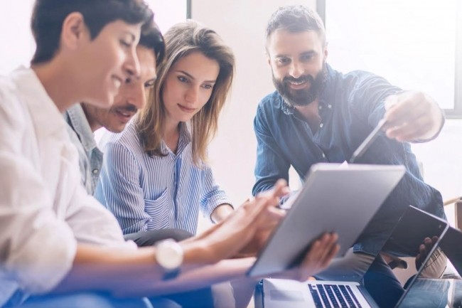 The Nuum Factory propose un parcours d'un an en alternance aux diplômés, aux salariés en entreprises ainsi qu'aux demandeurs d'emploi. Crédit. D.R.