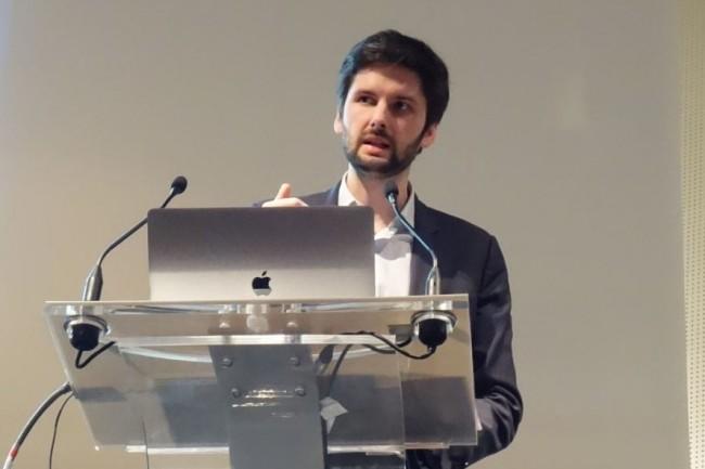 «La visualisation de données constitue le début de nos investigationsdans nos missions d'audit », a exposé hier Charles Delbrouck, inspecteur principal à l'Inspection Générale de BPCE, lors d'un témoignage surBig Data Paris 2019. (Crédit : LMI/MG)
