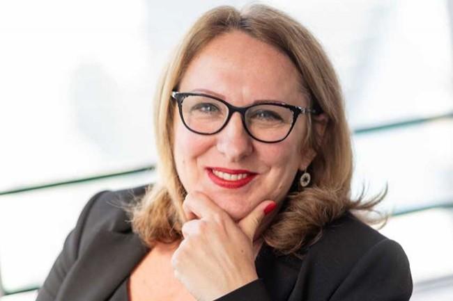 Avant de rejoindre Fortinet, Claire Souhaut a été salariée de HPE pendant huit ans. (Crédit : Fortinet)