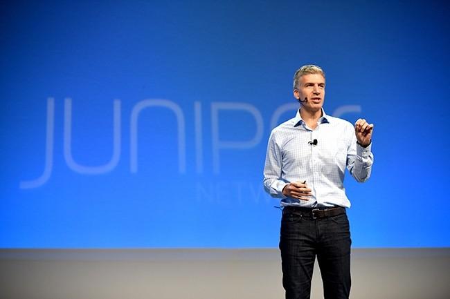 Juniper Networks, dont Rami Rahim est le CEO, dresse un bilan en double teinte de son année fiscale 2018. D'un côté, une baisse générale des revenus, de l'autre une ahusse de 18% de son activité sécurité. (Crédit : Juniper Networks)