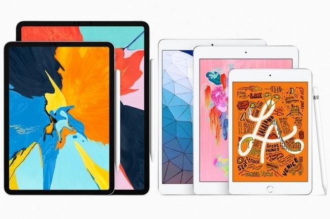 La gamme iPad s'agrandit, ou plutôt, retrouve deux anciens membres : l'iPad Mini et l'iPad Air. (Crédit : Apple)