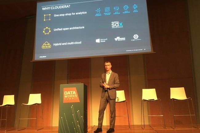 Dans le monde du data management, l'infrastructure peut changer radicalement d'une année sur l'autre, passant d'Azure à AWS ou GCP, selon la stratégie des entreprises, constate Fred Koopmans, vice-président, responsable de la plateforme chez Cloudera. (Crédit : LMI/MG)