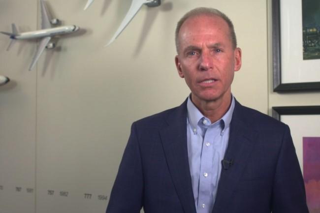 Le 18 mars, Dennis Muilenburg, PDG de Boeing, a exprimé sa « plus sincères condoléances aux proches des passagers et de l'équipage à bord » dans une lettre ouverte. (Crédit : Boeing)