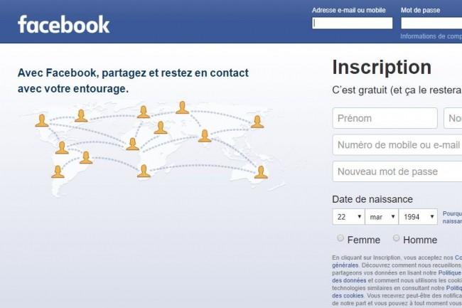 Facebook fait face à une énième affaire de sécurité des données personnelles d'utilisateurs. (crédit : D.R.)