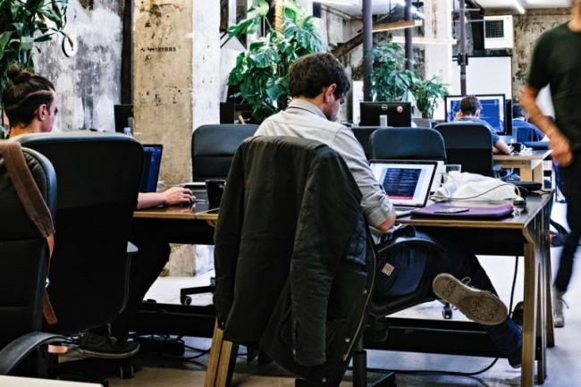 La formation Executive  dispensée par Le Wagon (ci-dessus le campus parisien) aide les collaborateurs à mieux comprendre les enjeux de la digitalisation. Crédit. D.R.