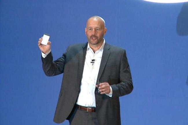 Intel fondait de grands espoirs sur sa Compute Crad, tout comme son Compute Stick encore en vente. (Crédit Martyn Williams/IDG)