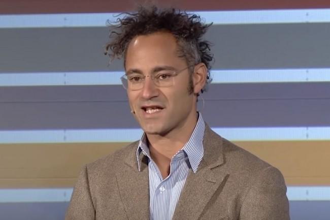 Palantir, dirigé et fondé par Alex Karp son CEO, a lancé une filiale en France avec à sa tête l'ancien numéro 2 d'Airbus, Fabrice Brégier. (crédit : D.R.)