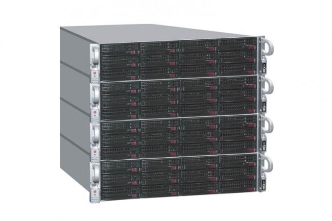Les fonctionnalités des clusters NAS de Compuverde vont venir étoffer la gamme FlashBlade de Pure Storage. (Crédit : D.R.)