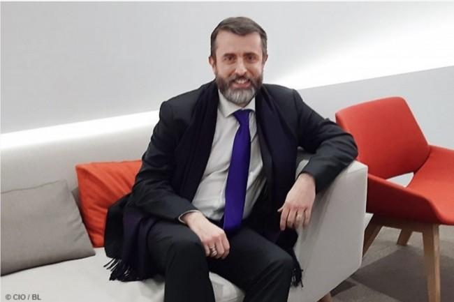 Jean-Séverin Lair est le directeur du Programme Vitam à la DINSIC. (Crédit : CIO/BL)