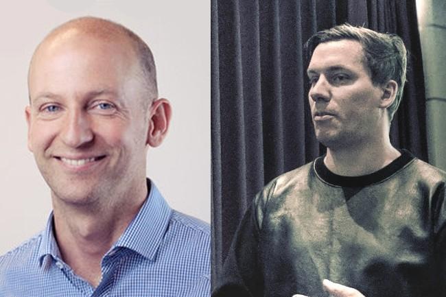 David Saris (� gauche) et Ola Persson sont respectivement CEO de g-company et d'Avalon Solutions. (Cr�dit : g-company et Avalon)