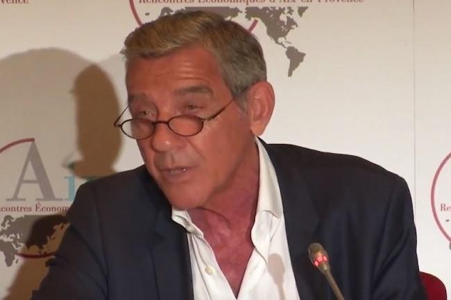 Michel Cicurel, président de Michel Cicurel Conseil, est à l'origine du lancement du club d'investisseurs La Maison. Ci-dessus, lors d'une intervention en septembre 2017 sur les Rencontres Economiques d'Aix-en-Provence. (Crédit : D.R.)
