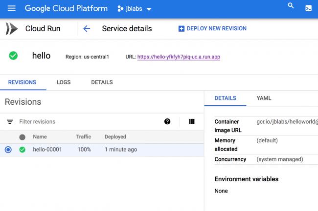 Avec Cloud Run, Google passe aussi au serverless pour les conteneurs. (Crédit D.R.)