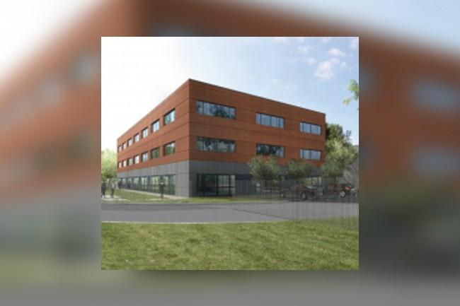Les nouveaux locaux de Scopelec à Saint-Orens. (Crédit photo : D.R.)