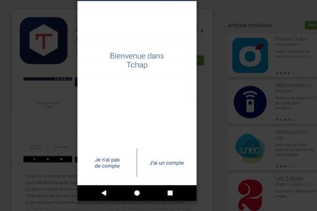 La Dinsic a officiellement lancé la messagerie sécurisée Tchap pour les services de l'Etat. (Crédit Photo: DR)