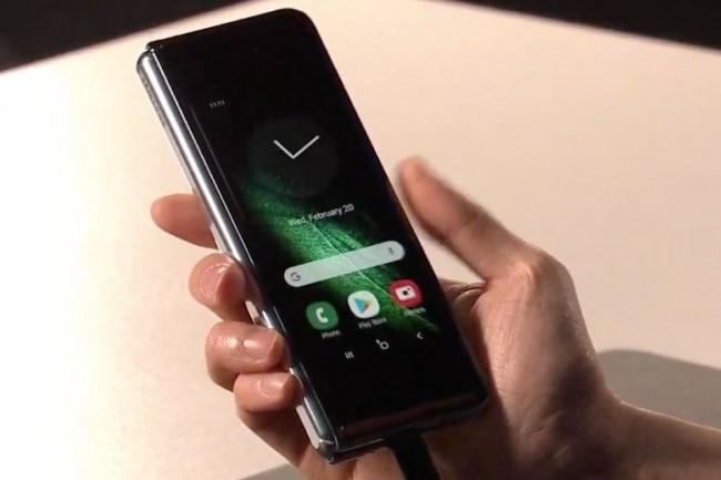 Samsung n'a pas précisé ce qu'il allait advenir des précommandes déjà effectuées suite à la décision de repousser le lancement de son Galaxy Fold. (crédit : D.R.)