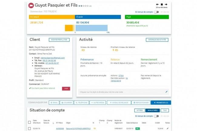 Sage 100cloud réduit l'encours client en PME
