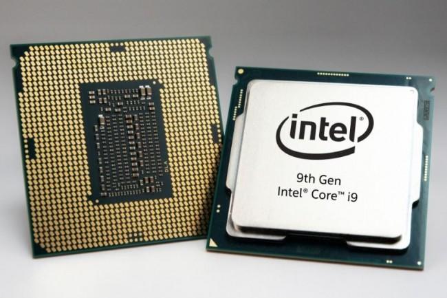 Le Core i9-9980HK, le plus puissant processeur mobile présenté par Intel, est cadencé à 2.4GHz de base (5.0GHz en mode turbo) et compte 8 cœurs et 16 threads. (crédit : Intel)