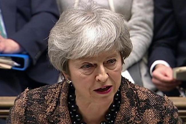 Theresa May, la Première ministre, aurait validé la participation de Huawei malgré l'opposition de plusieurs ministres, lors du Conseil national de sécurité (NSC) de mardi. (Crédit : Tiocfaidh ár lá 1916 / Flickr)