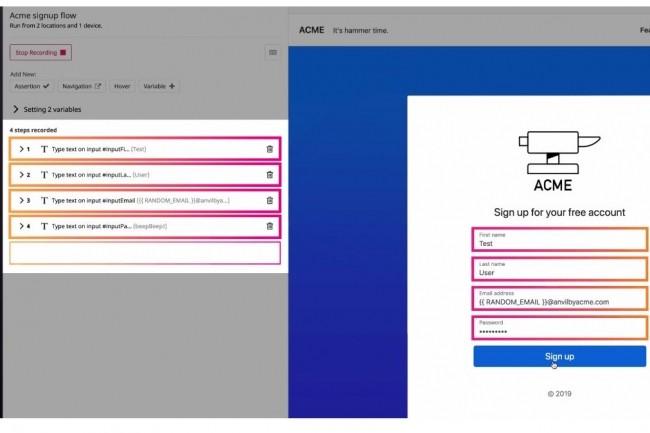 L'outil Browser Tests, désormais intégré à l'offre de Datadog, enregistre en quelques minutes une séquence qui permettra ensuite de tester l'expérience utilisateur d'une application web.