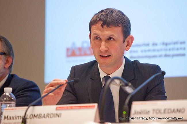 A l'époque où le groupe manifeste son intérêt de racheter l'opérateur américain T-Mobile, Maxime Lombardini était directeur général d'Iliad. (Crédit : Olivier Ezratty)
