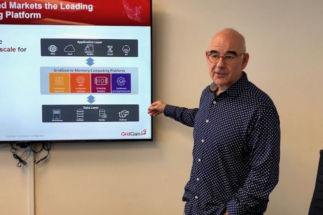 CEO de GridGain, Abe Kleinfeld mise depuis 2014 sur un modèle open source matinée de services. (Crédit S.L.)