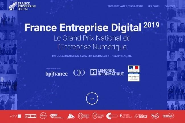 Venez voter pour les meilleurs projets IT et numériques de France dans les catégories Start-up et Transformation de France Entreprise Digital 2019. (crédit : D.R.)