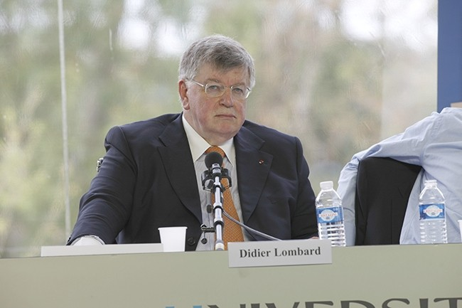 L'ancien PDG de France Télécom, Didier Lombard, devra répondre devant la justice des questions de harcèlement moral subient par les salariés du groupe entre 2008 et 2009. (Crédit : MEDEF)
