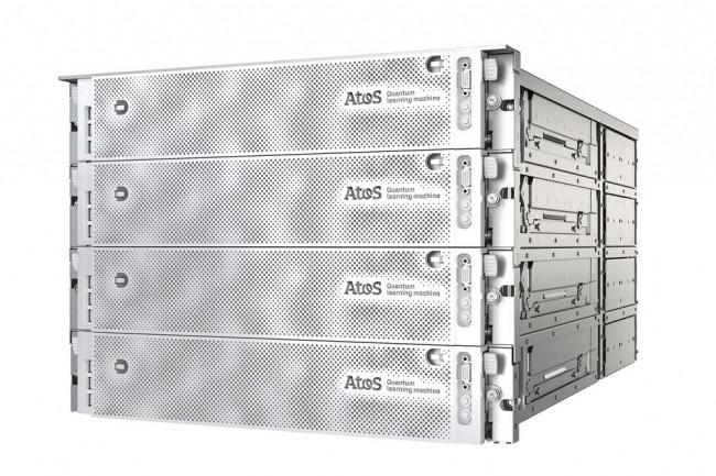 Depuis presque deux ans, Atos propose avec le Quantum Learning Machine un simulateur quantique de 30 à 41 Qubits reposant sur un supercalculateur installé à Angers. (Crédit : Atos)