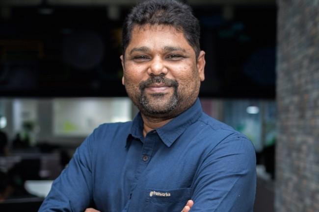 Avant de co-créer Freshworks (sous le nom initial de Freshdesk) en 2010, Girish Mathrubootham, son CEO, avait passé 5 ans chez Zoho Corporation. (Crédit : Freshworks)