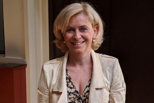 Catherine Chauvois, directrice de l'activité Systems d'IBM France, a été nommée à ce poste en janvier 2019 après une quinzaine d'années passées chez la filiale française de big blue notamment au poste de directrice commerciale pour la branche Technology Support Services. (crédit : D.F.)