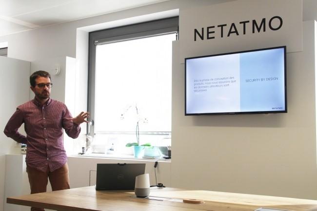 Ancien de l'ANSSI, Guillaume Valadon a été recruté en septembre dernier pour diriger l'équipe sécurité de Netatmo. (Crédit : Bastien Lion)