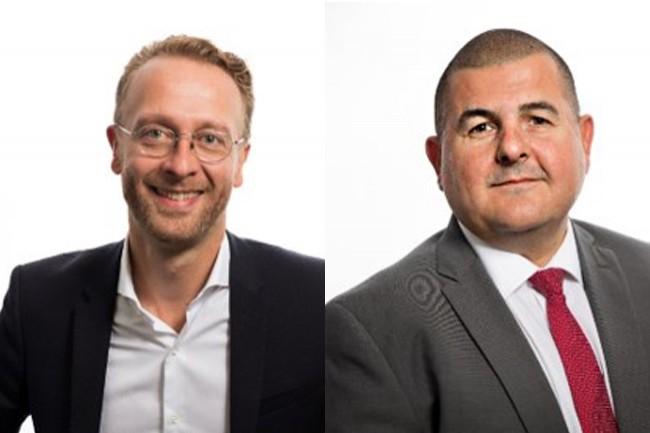 Etienne Besançon et Arnault Hugues, respectivement président du groupe Constellation et directeur général de Novahé, comptent sur l'acquisition d'Amazone Informatique pour asseoir leur expertise IBM Power Systems dans l'Est du pays. (Crédit : Constellation)