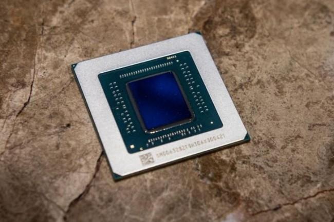 Le processeur graphique Radeon RX 5700 basé sur RDNA. (Crédit: Adam Patrick Murray/IDG)