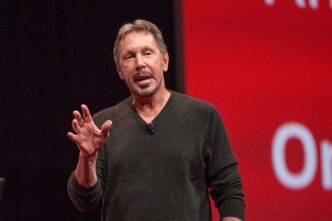 Larry Ellison, fondateur d'Oracle, dégaine l'arme de l'alliance avec Microsoft pour renforcer son cloud, quelques mois après la défection du patron de son développement Thomas Kurian au profit de Google Cloud. (Crédit : Oracle)