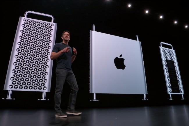 A l'occasion de sa conférence développeurs en début de semaine, Apple a annoncé la fin d'iTunes et le lancement de son prochain Mac Pro, à l'automne. (Crédit : Apple)